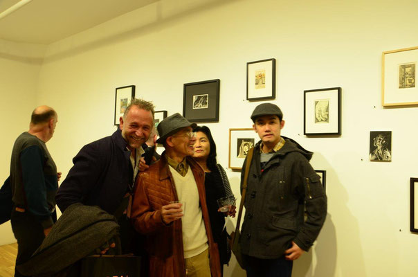 With artists Maritta Ganapin, JoJo Austria and Joel Soliven. photo: Nicole Ponesch ©