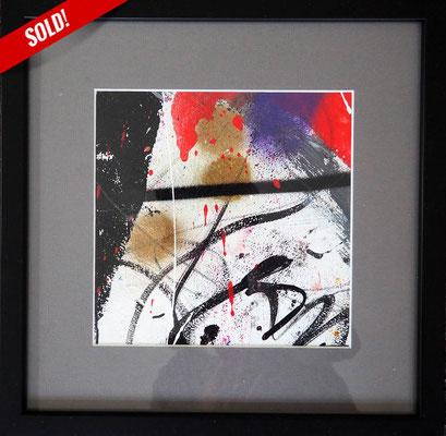 25. TUSCAN MOONLIGHT, 20 x 20 cm, framed: 33 x 33 cm