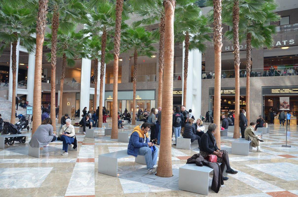 The new shopping center close to the World Trade Center. photo: Nicole Ponesch ©