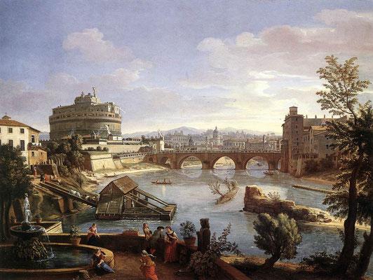 Kastell Sant'Angelo in Rom: Gaspar van Wittel