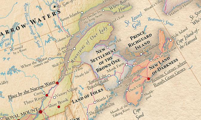 Atlas of True Names - Canada