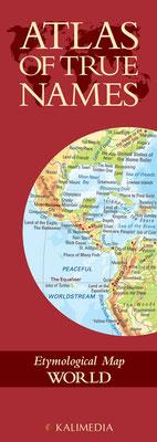 Atlas of True Names - World, € 8,00