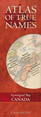 Atlas of True Names - Canada, € 8,00