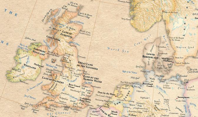 Atlas of True Names - Europe