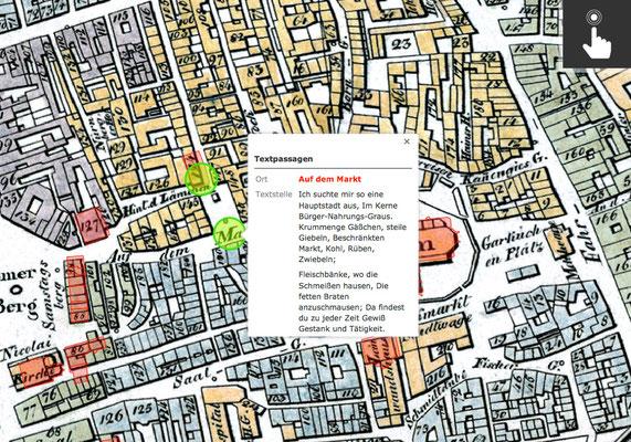 interaktiver Kartenpunkt