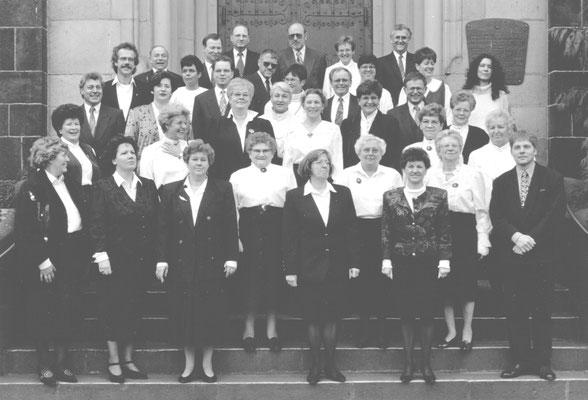 Der Chor im Jubiläumsjahr 1995