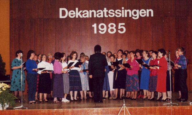 Dekanatsfest in Weißenthurm anlässlich des neunzigsten Chorjubliäums.