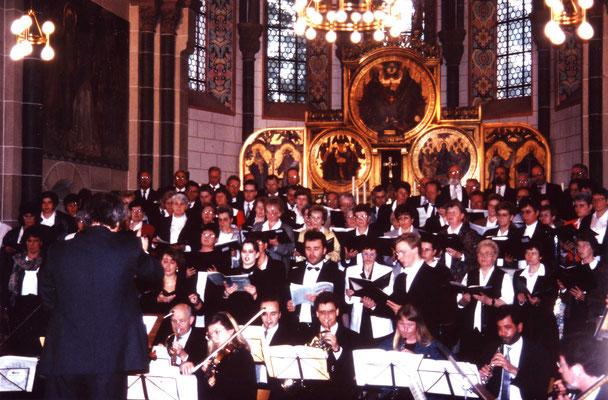 Krönungsmesse zum 100. Jubiläum mit Mitgliedern der Rheinischen Philharmonie
