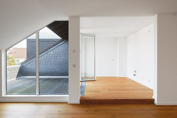 Küche und Dachterasse, Archuitekturfoto Thüringen