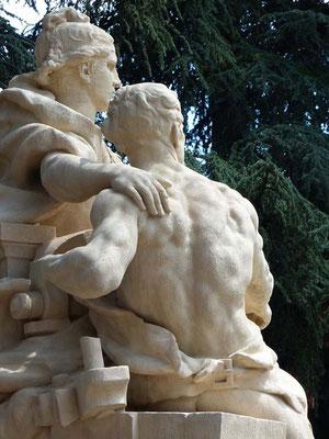 restauration statuaire parc Bazin 69003