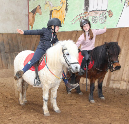 stage d'équitation pendant les vacances de février