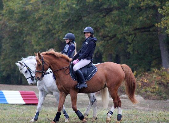 stage d'équitation à cheval ou à poney, objectif Galops