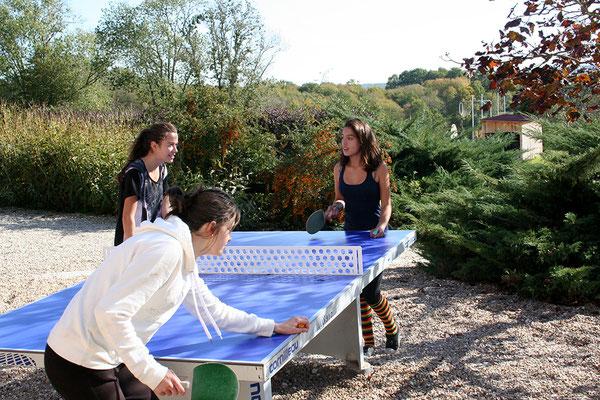 Parties de ping-pong endiablées