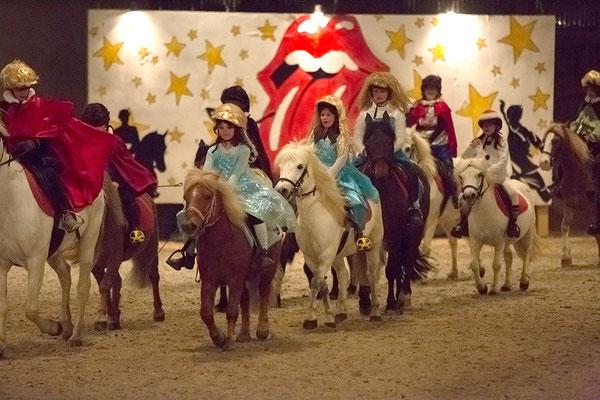 stage spectacle équestre, à poney et à cheval