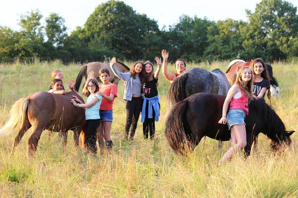 Ambiance nature, poneys et bonne humeur aux Grilles