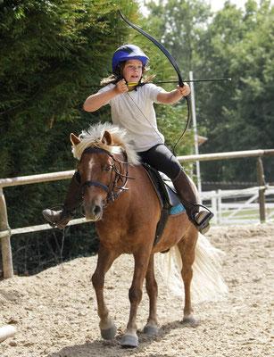 Tir-à-l'arc à poney