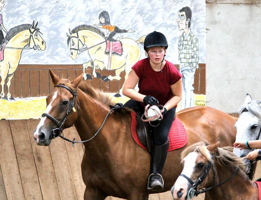 Horseball, une discipline équestre pratiquée aux Grilles