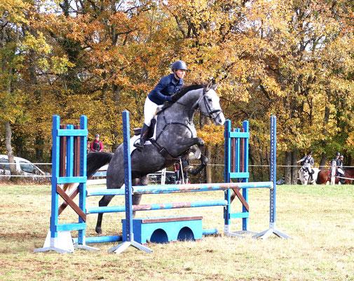 Compétition d'équitation aux Grilles