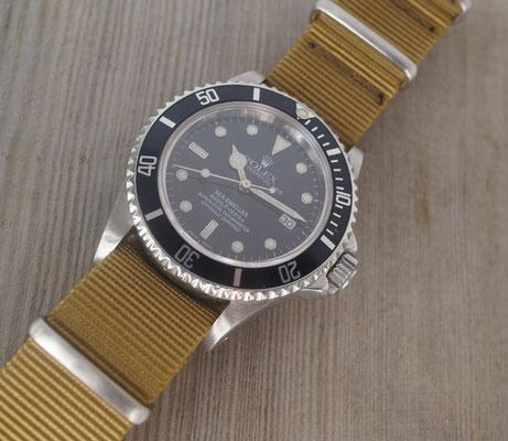 Rolex Sea Dweller 16660 mit NATO STRAP