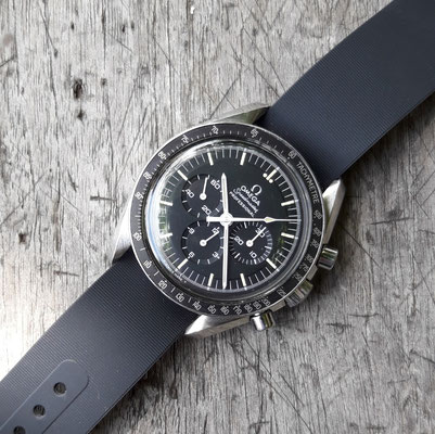 Omega Speedmaster Moonwatch 145.022 ST mit NATO Strap
