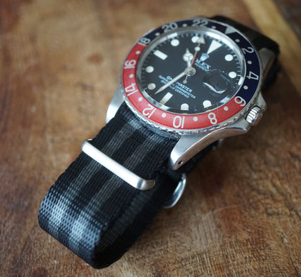 Rolex GMT Master 1675 mit Nato strap