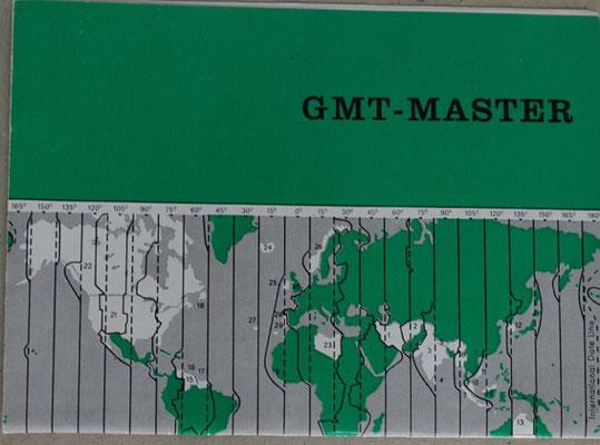 Rolex GMT MAster Referenz  1675 Full set