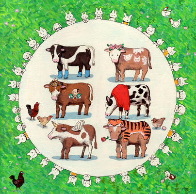 牛の品評会 2017.04