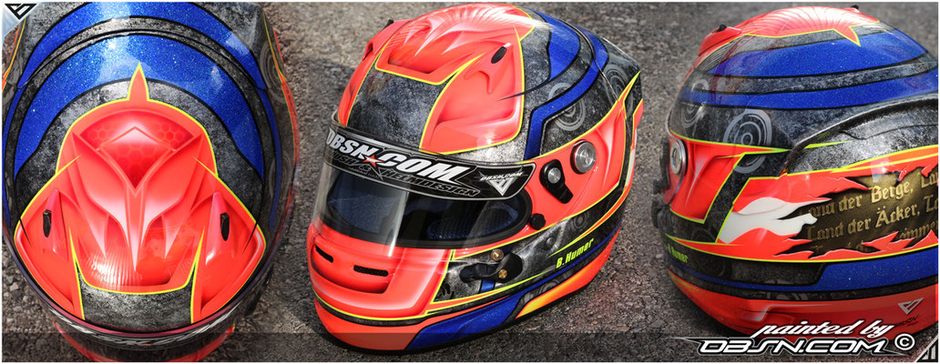 Patriot_ARAI, Airbrushdesign & Hymne
