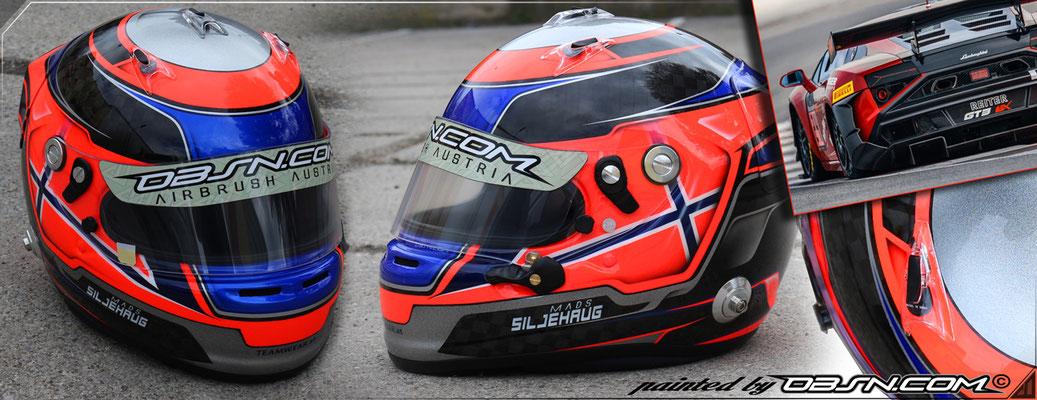 Mads Siljehaug Lamborghini Gallardo R-EX GT4