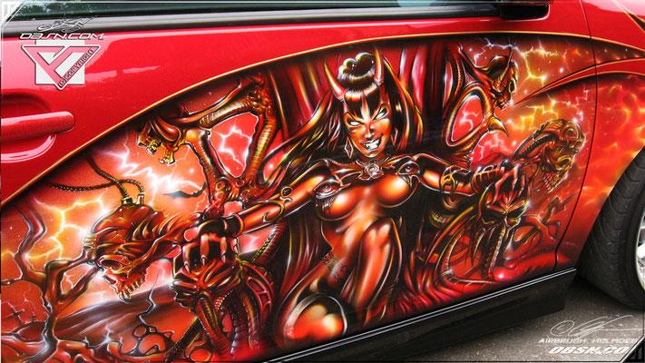 VW Golf GTI Devil, Purguatory Fanwork