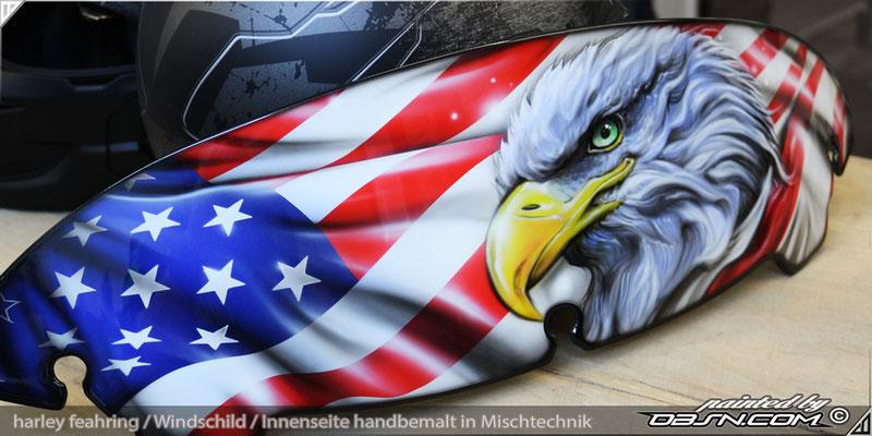 Windschild Harley American way of live