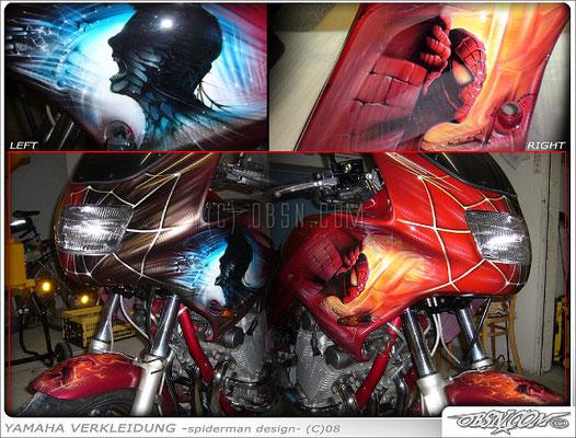 Spiderman auf Tourenbike2