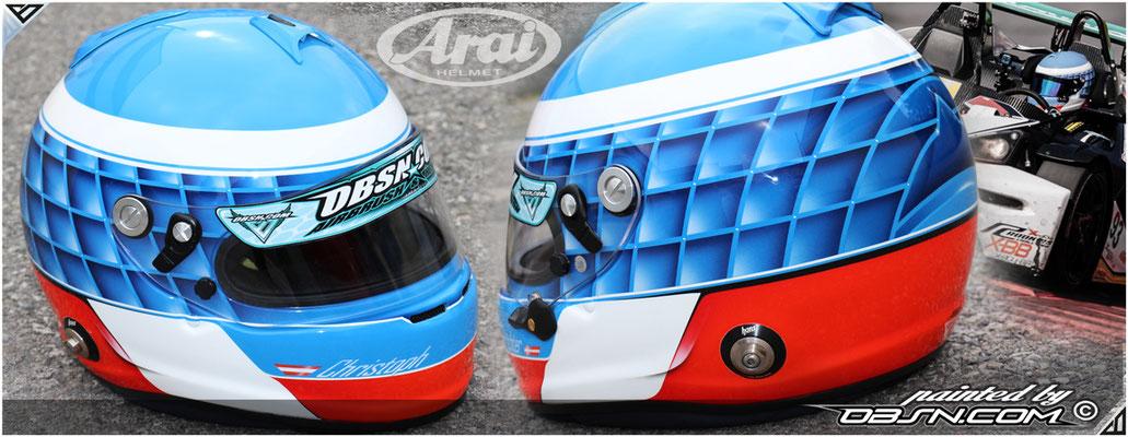 C. Nimmerrichter, KTM_XBOW_Battle, Arai GP inkl. Hans -Clips