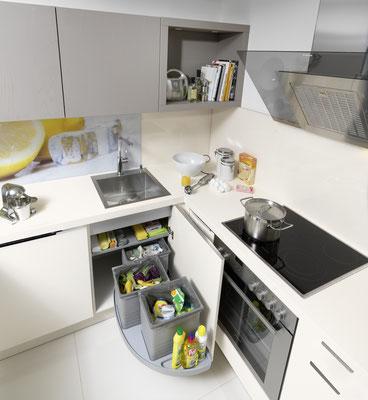 Intelligenter Mülltrenn-Spülenschrank