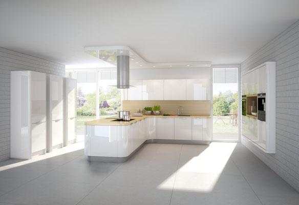 Runde Küchenschränke - ein echtes Highlight