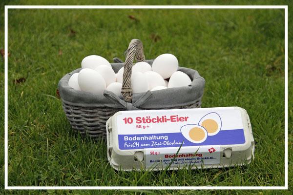 Stöckli-Eier Bodenhaltung