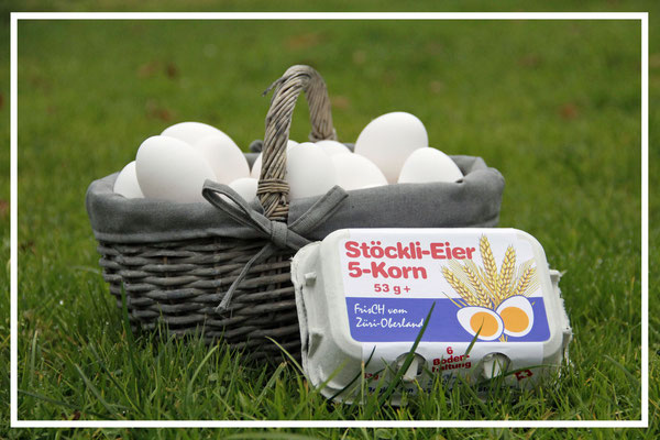 Stöckli-Eier 5 Korn Bodenhaltung