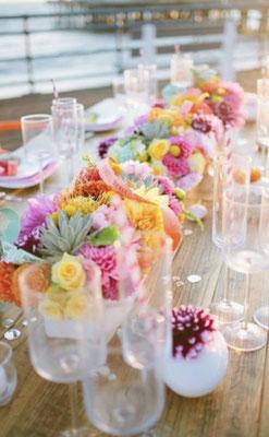 Bunte Hochzeit auf Mallorca