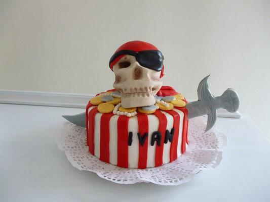 Tarta pirata de Dulce Dorotea