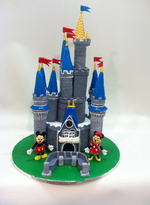 Castillo de Mickey y Minnie Mouse de Dulce Dorotea