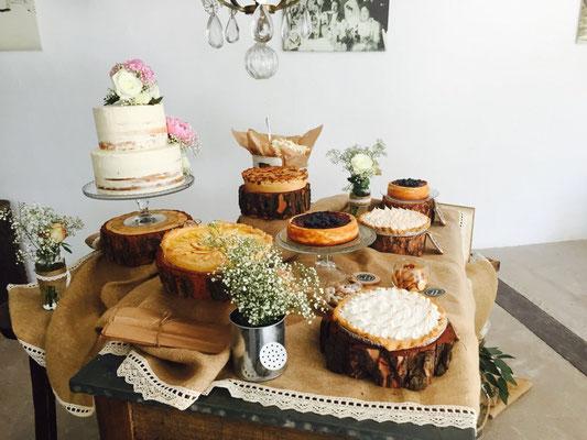 Mesa dulce Alquería, estilo rústico o clásico (II) | Dulce Dorotea