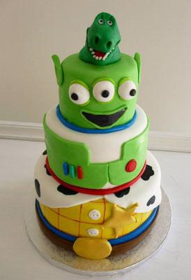 Tarta Toy Story de Ducle Dorotea