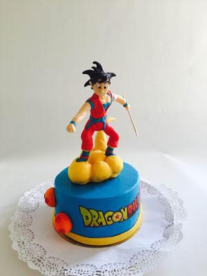 Tarta Dragon Ball Z de Dulce Dorotea Valencia