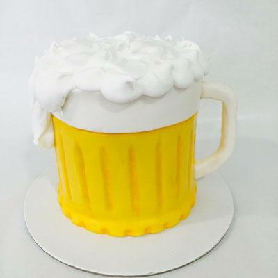 Tarta jarra de cerveza | Dulce Dorotea