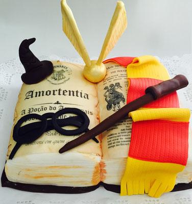 Tarta Harry Potter de Dulce Dorotea Valencia