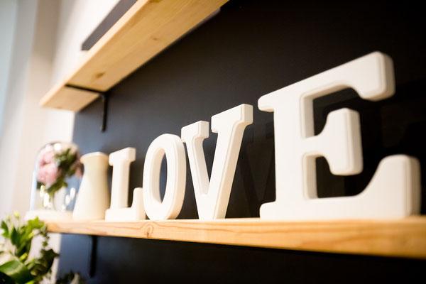 Detalle LOVE | Dulce Dorotea, tu cafetería en Quart de Poblet