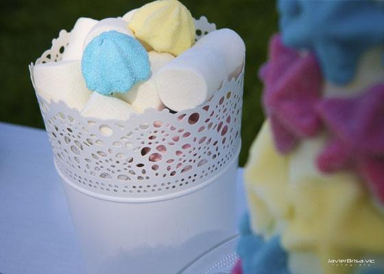 Detalle dulces de mesa dulce para bautizo baby bunny | Dulce Dorotea