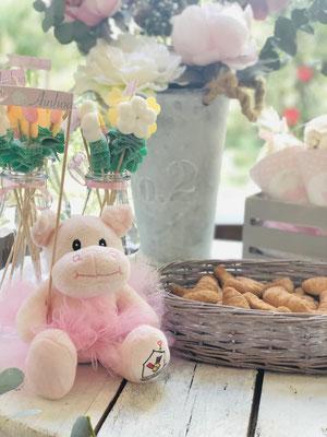 Detalle peluche Pink Hipo  | Dulce Dorotea