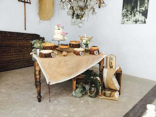Mesa dulce Alquería, estilo rústico o clásico (VI) | Dulce Dorotea