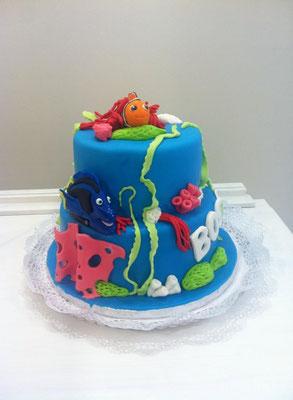 Tarta Nemo de Dulce Dorotea